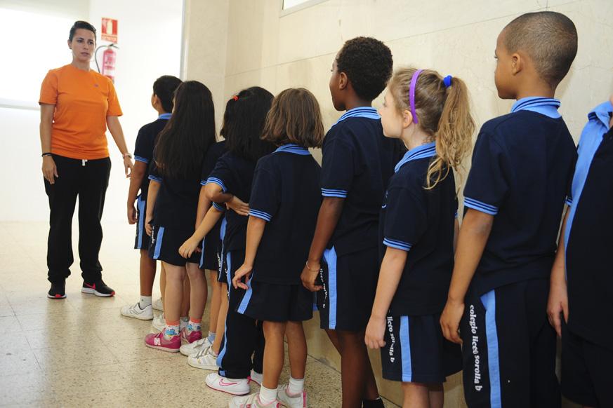 Uniforme de gimnasia Liceo Sorolla b