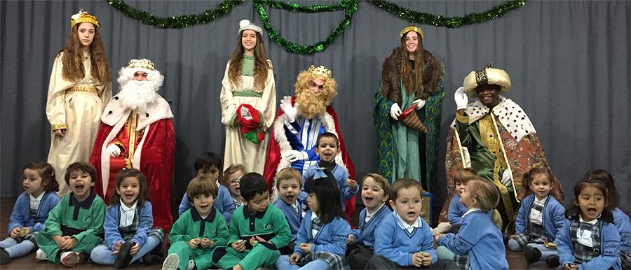 Los Reyes Magos y Papá Noel nos han visitado