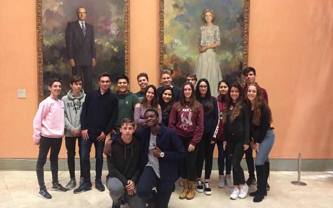 Visita de los alumnos de bachillerato al Museo Thyssen-Bornemisza