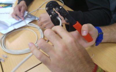 Confección de cables de red  UTP