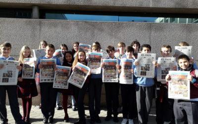 """Visitamos la redacción de """"El País"""""""