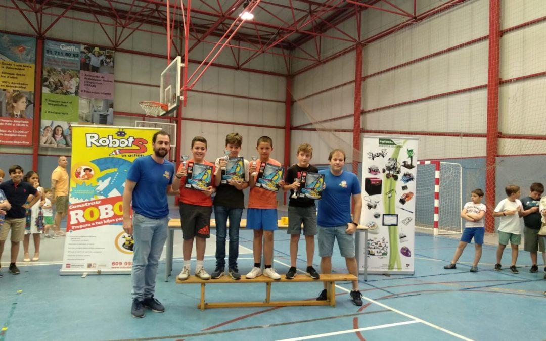Ganadores del V Certamen de Robótica
