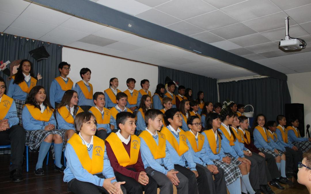 Graduación de alumnos de 6.º primaria