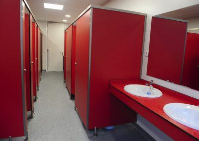 Nuevos baños de Primaria