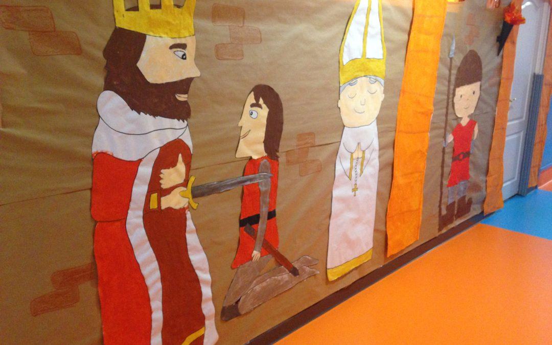 Aventura medieval en infantil