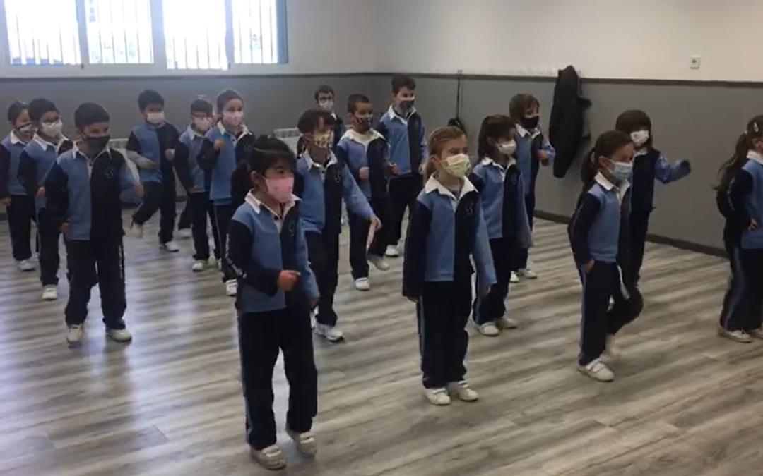 Aprendemos una coreografía